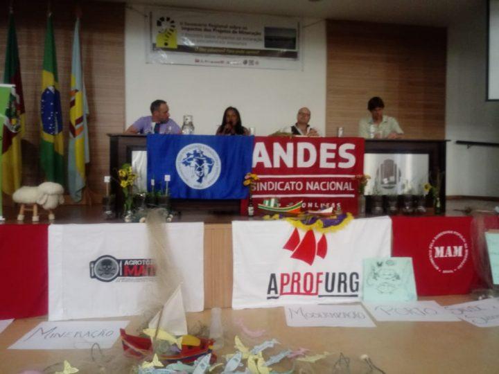 Seminário no Rio Grande do Sul debate impactos da mineração