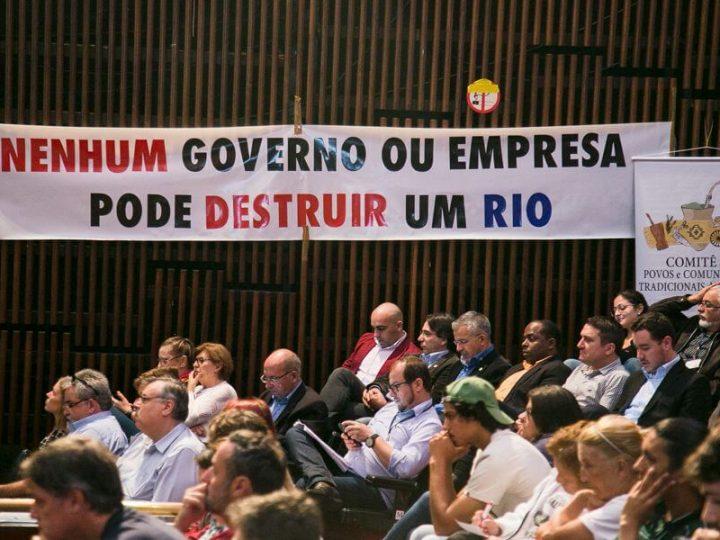 Audiência pública sobre projeto de mineração na bacia do rio Camaquã