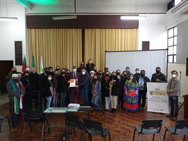 Membra do Comitê dos Povos e Comunidades Tradicionais do Pampa é empossada no Conselho Nacional de Povos e Comunidades Tradicionais